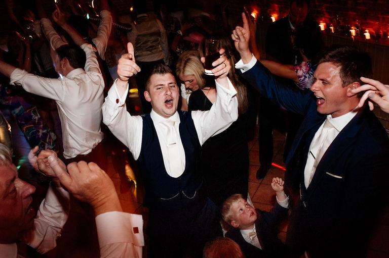 Hands up on the dance floor