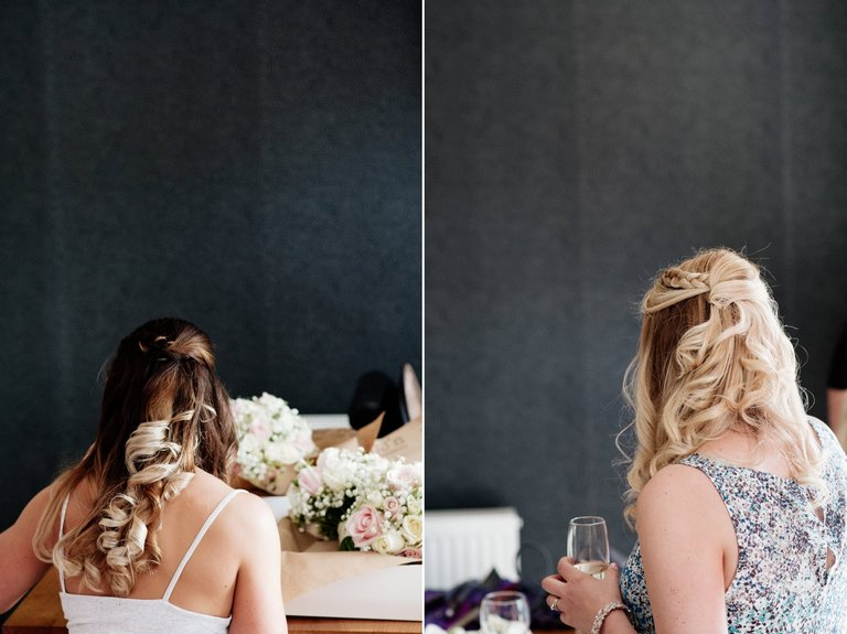 Bridesmaid hair styles