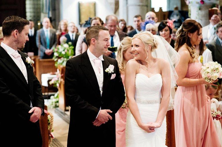 windy wedding at peak edge hotel