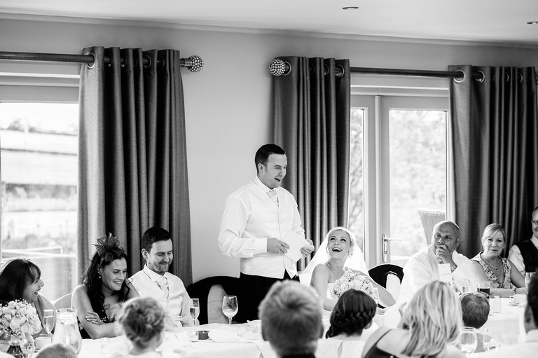 Peak Edge Hotel groom's speech
