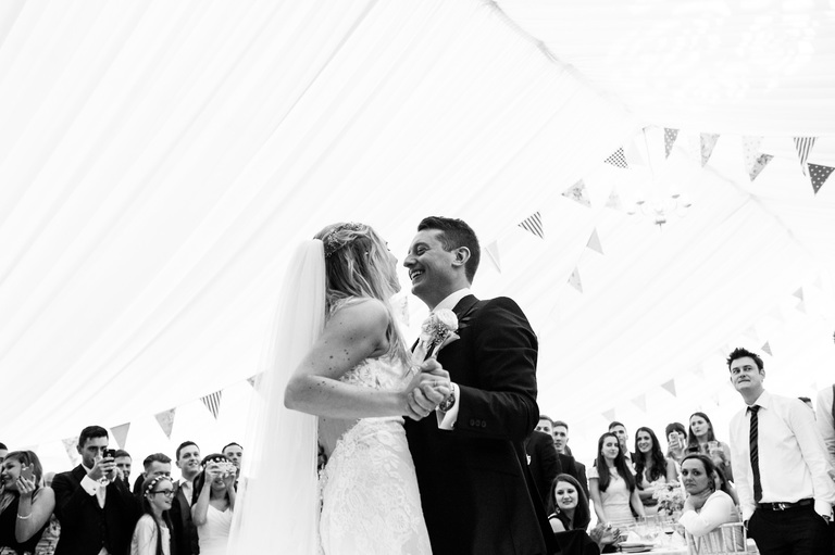 First dance marquee