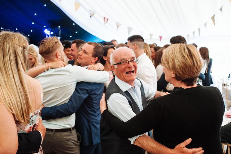 Welsh Marquee Wedding   ©Chris Seddon