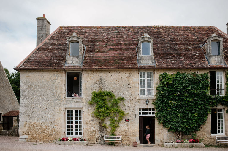 French country house wedding