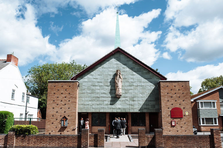 St Wilfrid's RC Church Coalville