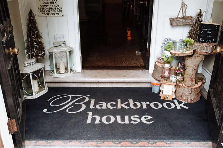 Blackbrook House Wedding Venue Derbyshire
