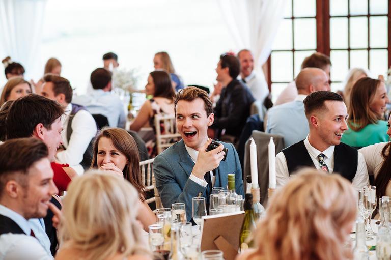 shocked wedding guest