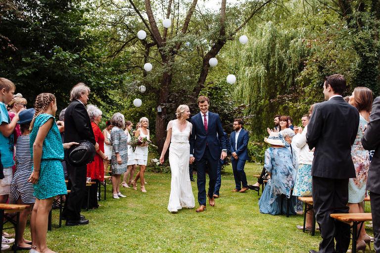 french garden party wedding