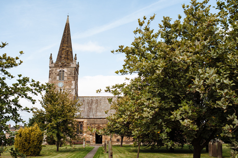 st catherine's church wedding barmby moor