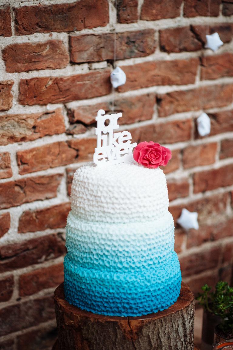 for like ever wedding cake
