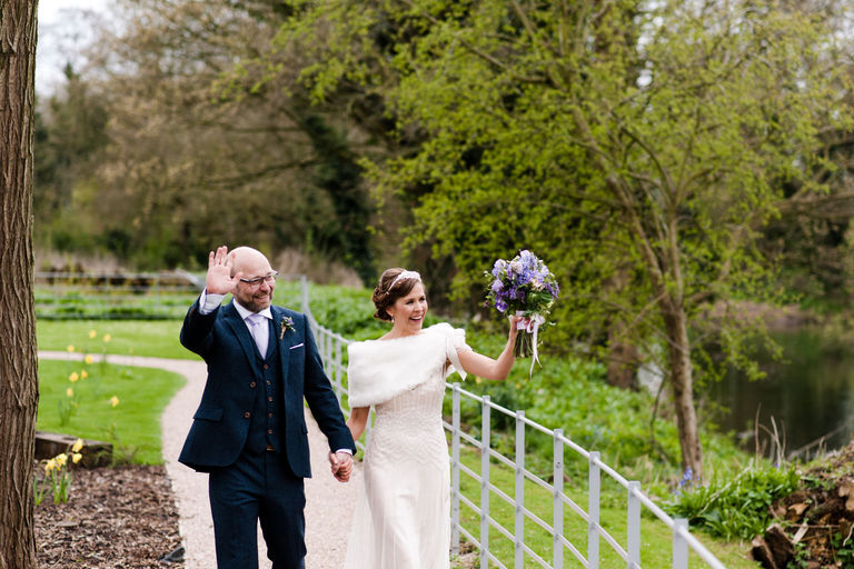 just married at west mill derby