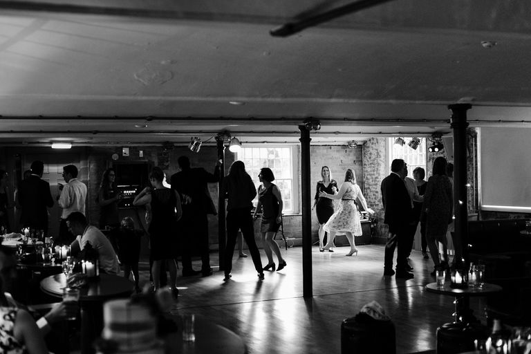 ladies on the dancefloor