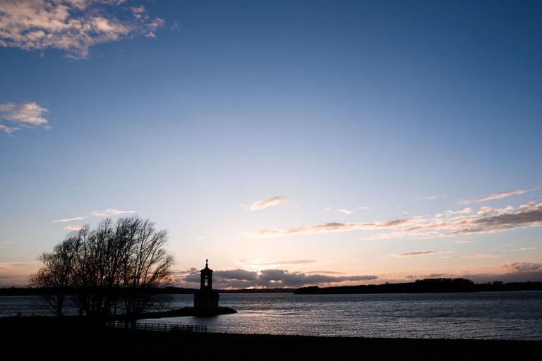 normanton church rutland water sunset