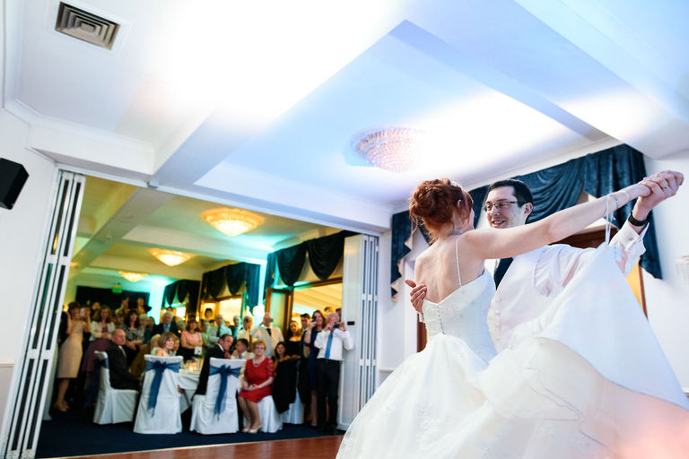 first dance at normanton park hotel