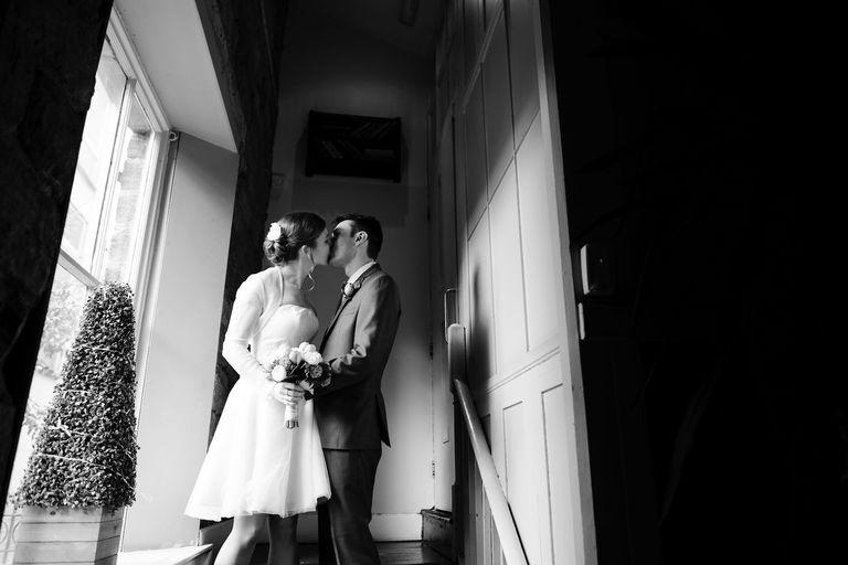 unposed wedding portraits