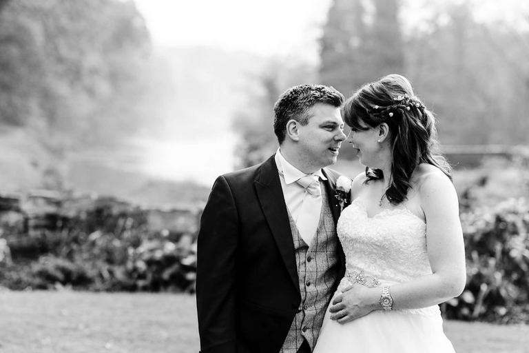 relaxed couple portrait priest house derbyshire