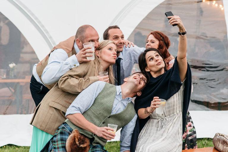 big group selfie