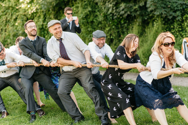 wedding tug of war