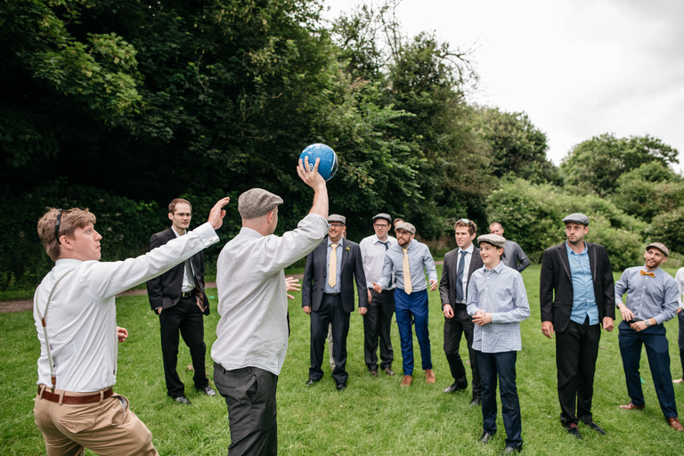wedding ball games