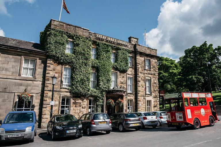old hall hotel buxton wedding venue