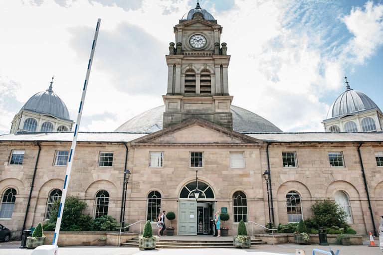 devonshire dome wedding venue entrance
