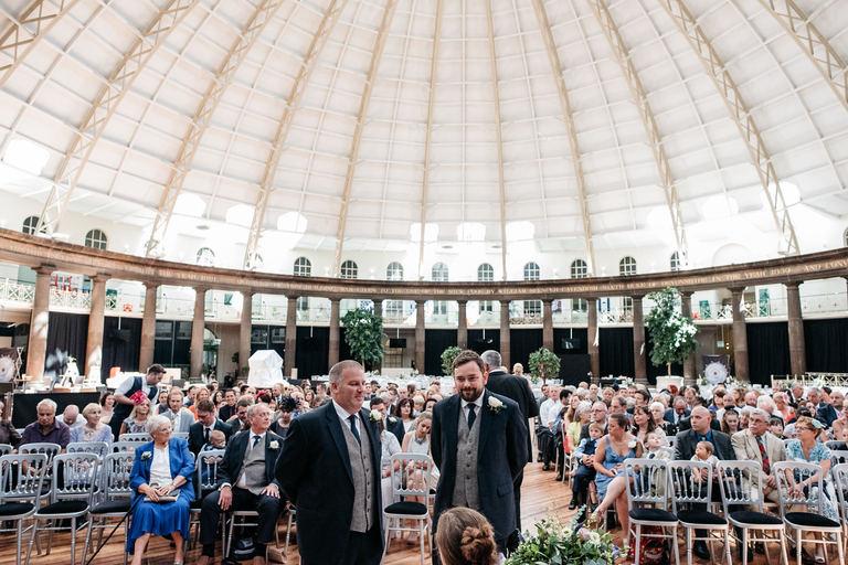 impressive interior of the devonshire dome