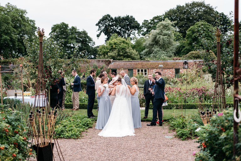 skipwith hall gardens wedding reception