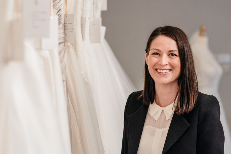 owner of the ivory chapter bridal boutique
