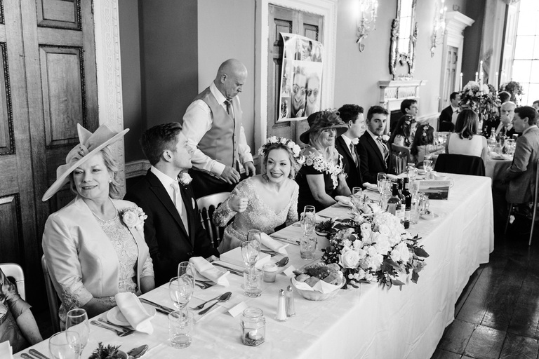 top table in staunton harold hall