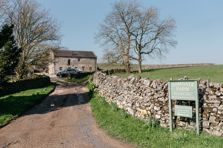 Exterior of Lower Damgate Farm in Derbyshire
