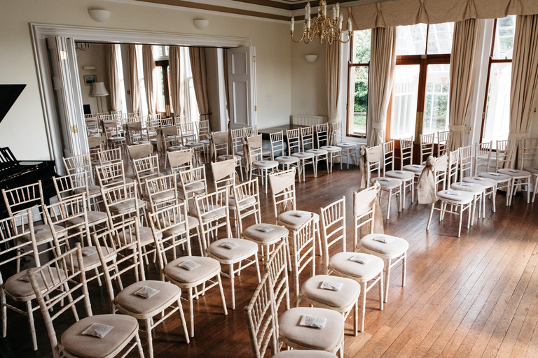 Seating arrangements for wedding ceremony