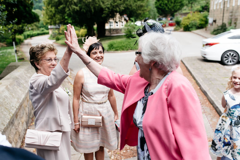 grandmas high fives