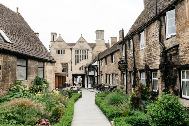 The Talbot Hotel wedding venue in Oundle