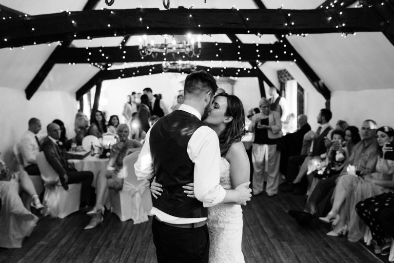 an intimate first dance