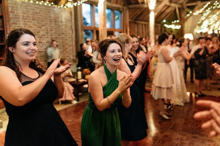 guests enjoying the regency dancing