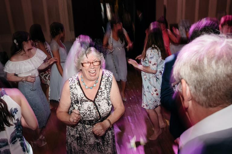 dance floor fun and games