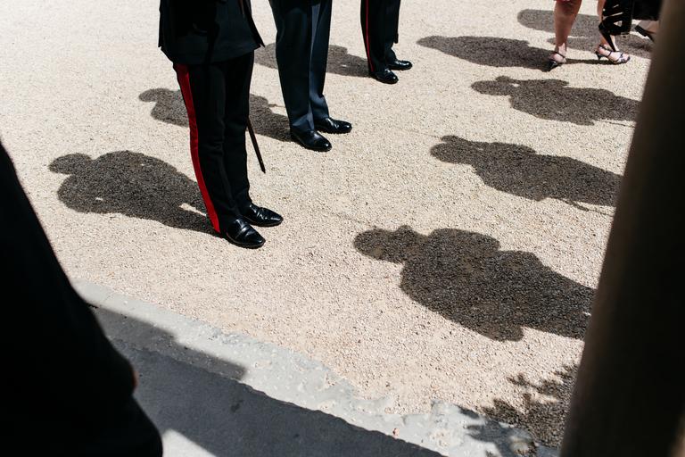 guard of honour shadows