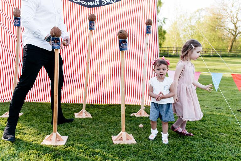 coconut shy scouting jamboree wedding