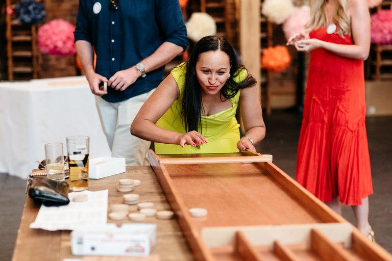 shuffle board wedding game jamboree