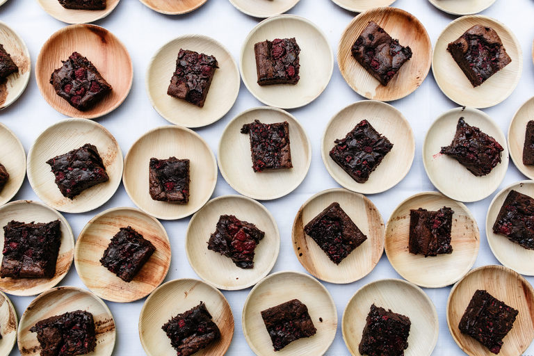 chocolate brownies from above