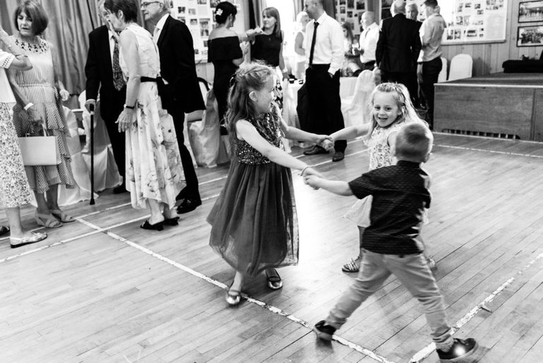 kids on the dance floor