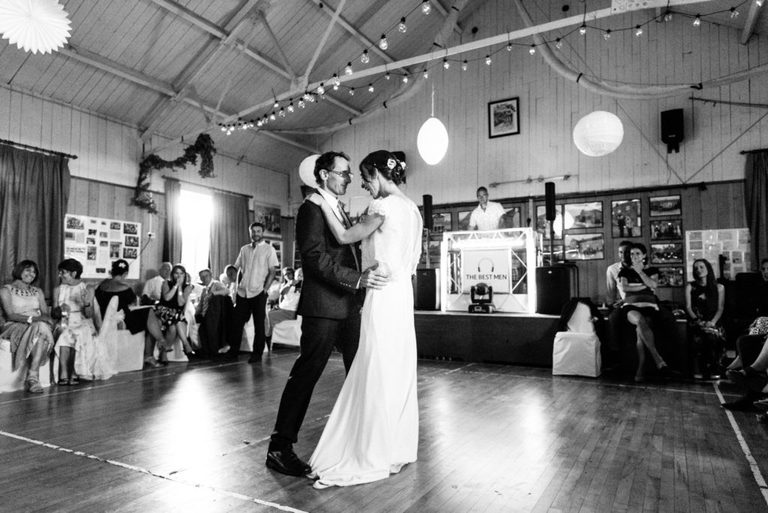 first dance in the village hall