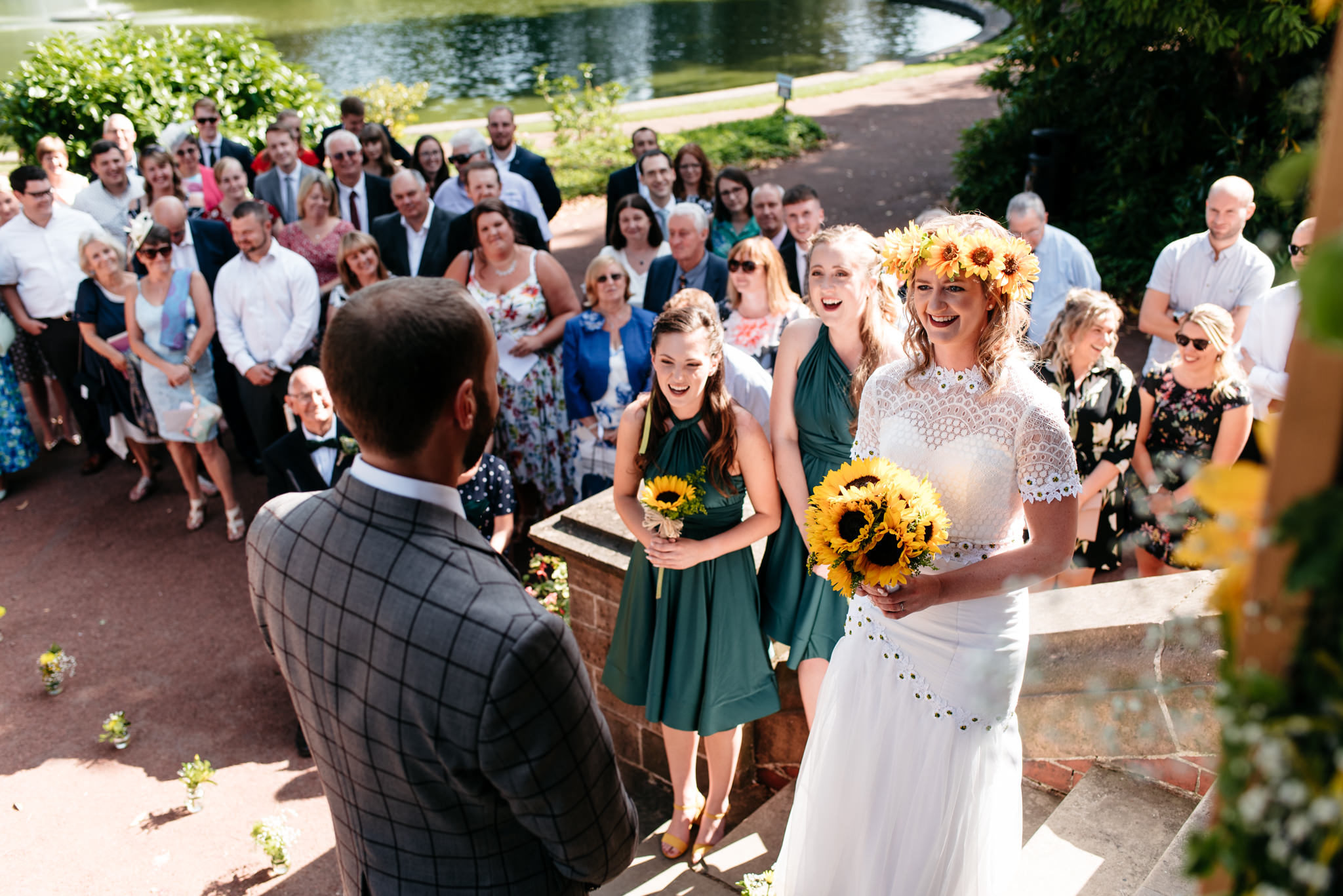 getting married on the steps of papplewick pumping station