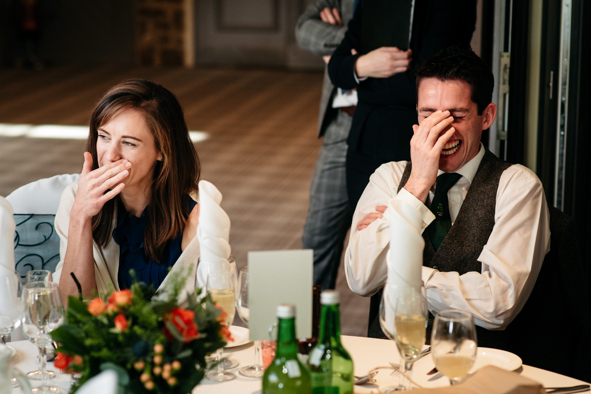 hilarious reactions to wedding speeches