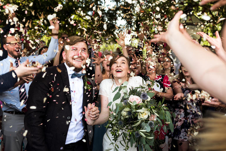 Amazing Confetti Photo