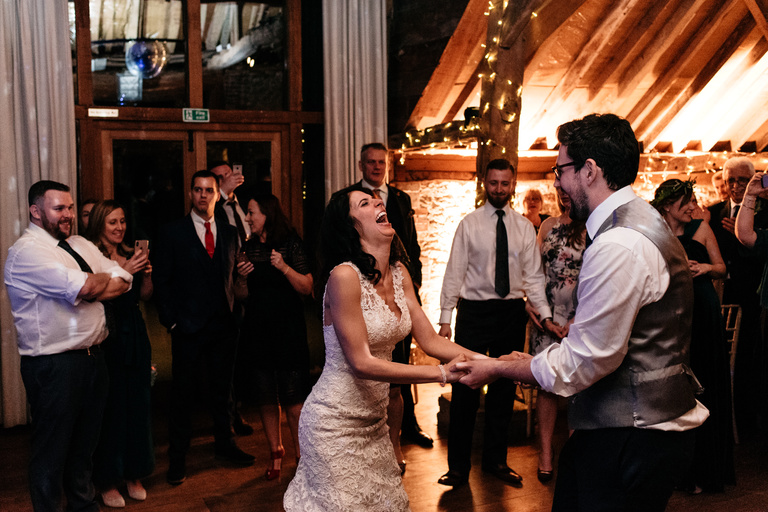 first dance at grittenham barn