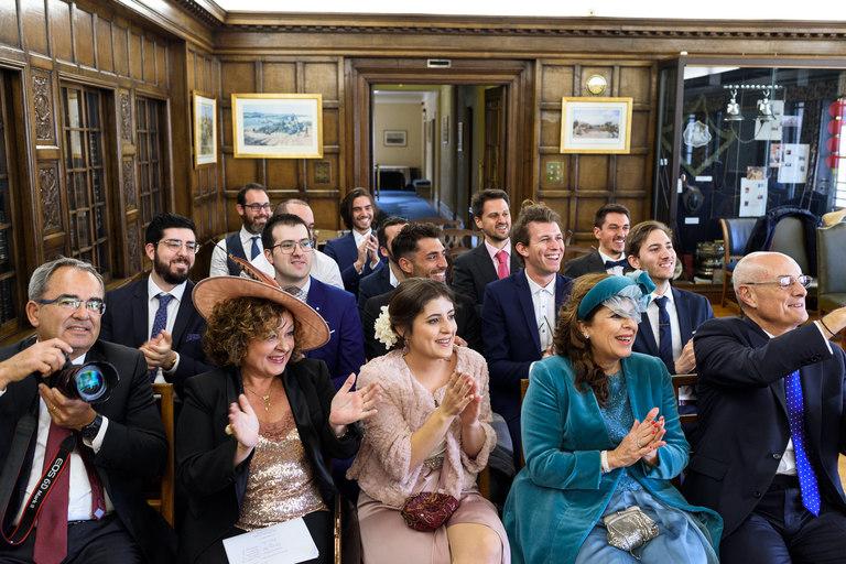 nottingham council house members lounge wedding
