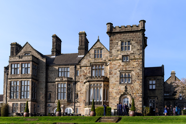 drinks reception at breadsall priory