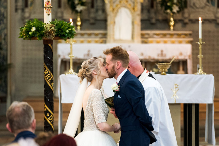 first kiss at st mary's church in derby