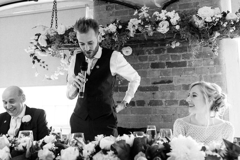 groom speech at west mill