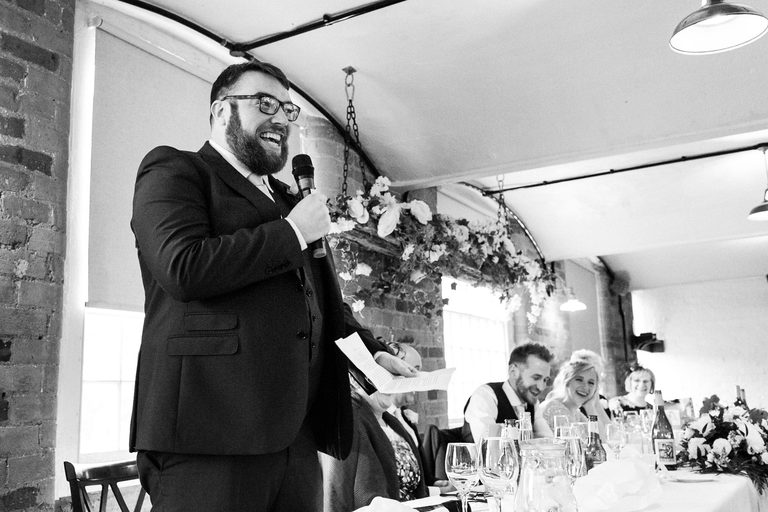 funny best man's speech at the west mill